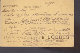 LOBBES  TUILERIES BRIQUETERIES / MARTIN ARTHUR 1914 - Lobbes