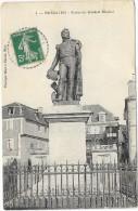 BEAULIEU:STATUE DU GENERAL MARBOT - France