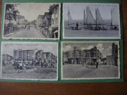 Lot De 9 Cartes Postales De DE PANNE - LA PANNE - De Panne
