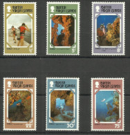 Virgin Islands - 1977 Tourist Publicity Set Of 6 MNH **  SG 374-9  Sc 327-32 - British Virgin Islands