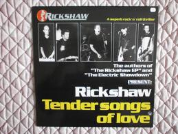 RICKSHAW - Tender Songs Of Love - LP - HDP - BELUGA - HEAVY POWER ROCK'N'ROLL - Rock