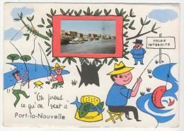 11 - Port-la-Nouvelle           Humoristique Avec Minivue - Port La Nouvelle