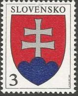 SK 1993-163 ARMS, SLOVAKIA, 1 X 1v, MNH - Briefmarken