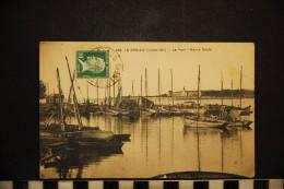 CP, 44, LE CROISIC Le Port Marée Haute    N°236 Edition F Chapeau - Le Croisic