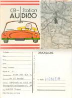 QSL-Karte 4050 Traun CB-Station Audi 80 Georg-Grinningerstraße Auto Automobil Automobile Voiture Macchina  Card Carte AT - QSL-Karten