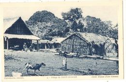 AFRIQUE  équatoriale - 3 - Village Du Haut-Ogooué - Gabun