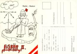 QSL-Karte 4050 Traun Radio-Station Eisbär Siebenbürgerstraße Ice Polar Bear Ours Card Carte Cartolina Österreich Austria - QSL-Karten