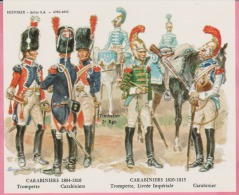 Historex - TENUES - Documentation - Carabiniers  (1804-1815)  N° 13 - Uniformes