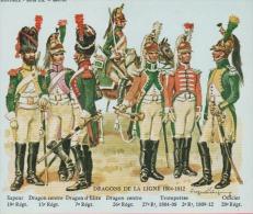 Historex - TENUES - Documentation - Dragons De La Ligne (1804-1812)  N° 8 - Uniform