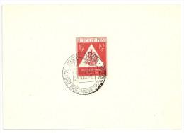 Deutschland Alliierte Besetzung - 2 Scans - SBZ Michel 228 SoSt Halle Tag Der Briefmarke 24.10.1948 - Gemeinschaftsausgaben