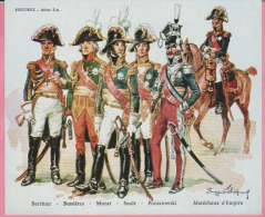 Historex - TENUES - Documentation - Maréchaux D'Empire   N° 14 - Uniform