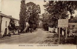 16 REIGNAC CARREFOUR ROUTE NATIONALE - France
