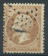 Lot N°30128    N°21, Oblit étoile Chiffrée 1 De PARIS ( Pl De La Bourse ) - 1862 Napoleon III