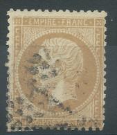 Lot N°30132    Variété/n°21, Oblit étoile Chiffrée PARIS, Filet OUEST - 1862 Napoleon III