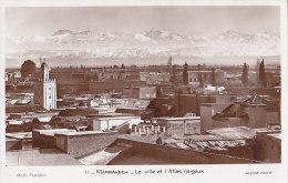 Maroc - Marrakech - Panorama Ville - Marrakesh