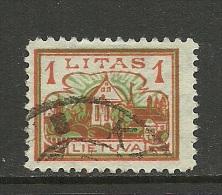 LITAUEN Lithuania 1923 Michel 193 O - Litauen
