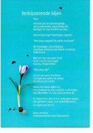 Verbijsterend Bijen   Gedicht  Van Johan De Boose Plattelandsdichter - Other