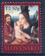 SK 2008-592 CHRISTMAS, SLOVAKIA, 1 X 1v, MNH - Slowakische Republik