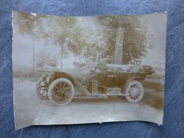 AUTOMOBILE RENAULT NN ? Guerre 14-18, Photo 9X12,  ; Ref 808 PH03 - Cars