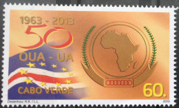 Cabo Verde 2013 - 50° Annversario OUA UA Unité Africaine African Unity 1 Val MNH - Cap Vert