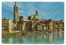Espagne--GERONE--1960--SAINT FELIX Et La Cathédrale,cpsm 15 X 10 N° 2068 Foto S.Bosch--cachet BERDUA - Gerona