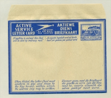 South Africa - 1942 - Active Service Letter Card / Airmail Unused - Südafrika (...-1961)