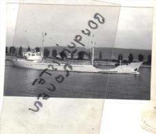 "photo  navire identifi� "" RONDRIEK "" DIETRICH MANGELS WILHELM FIETJEN 1964 STADT ALLEMAGNE TRANSPORT MARITIME MER"
