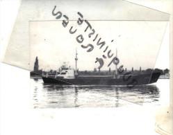 """photo  navire identifi� """" ALEXIS"""" HERMANN SCHEPERS 1956 ROLANDWERFT BREME  ALLEMAGNE TRANSPORT MARITIME MER"""
