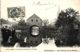 Belgi�/Belgique - Saint Ghislain -  La Vanne sur la Haine