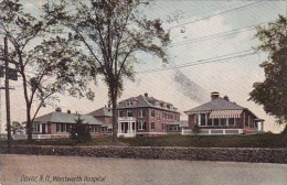 New Hampshire Dover Wentworth Hospital 1907 - Dover