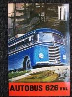 AUTOBUS,BUS   FIAT 626 RNL Copia Della Copertina Del Catalogo Originale Fiat  Edizione Limitata 350 Copie - Autobus & Pullman