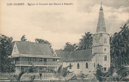 OCEANIE - KIRIBATI - ILES GILBERT - Eglise Et Couvent Des Soeurs à NONOUTI - Kiribati