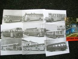 AUTOBUS,BUS   Serie Completa 10 Pezzi BUS STORY Edizione Limitata 350 Copie - Buses & Coaches