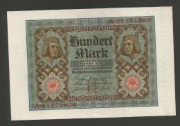 DEUTSCHLAND - Weimarer Republik - 100 Mark (Berlin 1920) - [ 3] 1918-1933 : Repubblica  Di Weimar