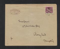 Dt. Reich Brief 1922 Meissen - Briefe U. Dokumente