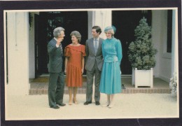 Repro Card ?,H.R.H. The Prince And Princess Of Wales,with Prime Minister Mr Bob Hawke, Canberra, J. - Case Reali