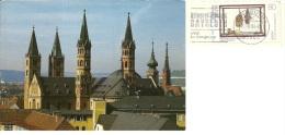 GERMANIA  BAYER  WÜRZBURG  Silhouette Der Kirchturme  Nice Stamp - Wuerzburg