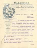 FACTURE LETTRE : BERNE . GALACTINA . FABRIQUE SUISSE DE FARINE LACTEE . 1903 . - Other