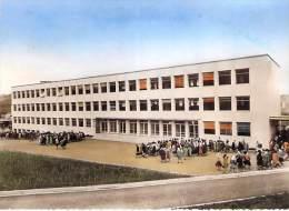 SAINT ETIENNE 42 - Lycée Honoré D'URFE : L'Externat - Allée Est - CPSM Dentelée Colorisée GF - Loire - Saint Etienne