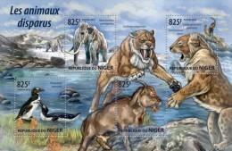 NIG15207a NIGER 2015 Extinct Animals MNH - Niger (1960-...)