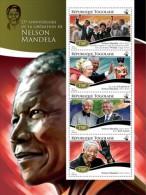 TG15111a TOGO 2015 Nelson Mandela MNH - Togo (1960-...)