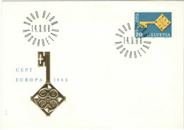 SVIZZERA - SUISSE - HELVETIA - 1968 - EUROPA CEPT - BERN - FDC - FDC