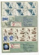 POLEN / 1983 / 2 Reco-Bfe. Nach Deutschland / € 0.90 (0247-20) - 1944-.... Republik