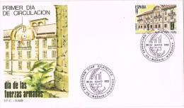 13820. Carta Exposicion MADRID 1985. Dia Fuerzas Armadas - 1931-Hoy: 2ª República - ... Juan Carlos I