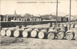 LEZIGNAN-CORBIERES. LA GARE. LE QUAI AUX VINS - France