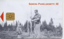 FINLAND PHONECARD   2/01-50000pcs- D234-USED(2)