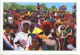 Images Des Antilles : CARNAVAL - Dessin De Emilie (illustrateurs) Ed Martinique Fort De France - Other