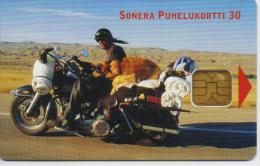 FINLAND PHONECARD   4/01-30000pcs- D240-USED(2)