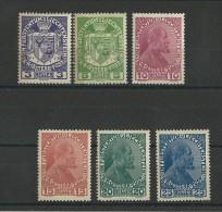 LIECHTENSTEIN - YVERT N° 4/9 ** - COTE = 48 EUROS - - Liechtenstein