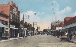 CIUDAD JUAREZ, Mexico, 1900-1910's; Calle Del Comercio, Hotel Ortuzar, Store Fronts